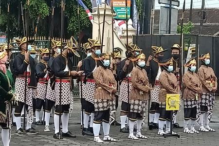 HUT KE 74 Condongcatur Depok Sleman 2020 Tampilkan Bregodo