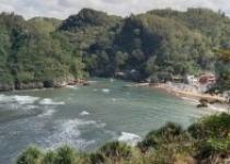 Panorama Wisata Alam Pantai Baron…