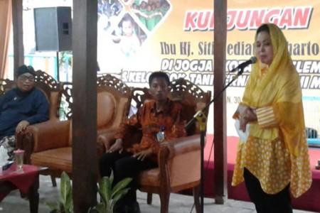 Titik Suharto Penyuluh Pertanian Itu Pahlawan