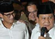 Prabowo Subianto -Sandiaga Uno…