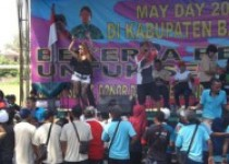 Buruh DI Bantul Rayakan May Day…