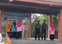 Meriahkan  Pekan Olahraga & Seni Kecamatan Bantul.Ratusan  Anak dan TK  Turut  Ikuti Jalan Sehat