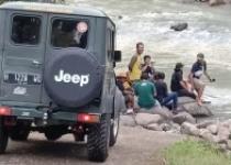 Sobo Ndeso Wuich 6 Jeep Yogyakarta American Jeep Nyemplung Kali