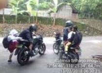 Jembatan Gantung Kedungmiri-Selopamioro Hanyut,Tak Tega Babinsa Serda Sakijo Peduli