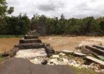 Inilah jembatan nglebak katongan…