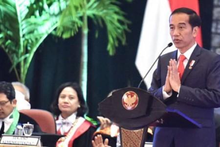 UGM Jadi Sample Perubahan Besar Dalam Dunia Pendidikan 'Presiden Tekankan Jangan Terjebak  Pada Rutinitas  'Bagian 1 '