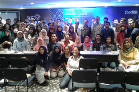 Bekraf  Adakan Sosialisasi Demoday  Food Startup Indonesia 2018