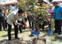 Sultan Resmikan Kampung Flory Menggali…