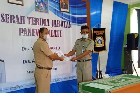 Drs. Arifin M.Laws  Mlati Gantikan Panewu Yakti Yudanto  Di Kapanewon Mlati Sleman
