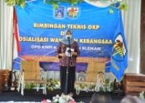 KNPI Sleman Gelar  Sosialisasi Wawasan Kebangsaan dan Bimbingan teknis OKP