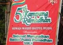 Orbitkan Kampung Ramadan 'Remaja…