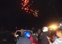 Kawula muda rayakan tahun baru…