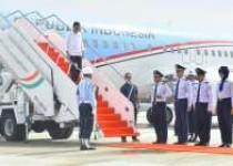 Presiden Jokowi Lakukan Pendaratan…