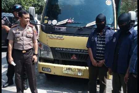 Garong truk di gunungkidul tertangkap Hari Rabu hari apes bagi komplotan pembegal truk