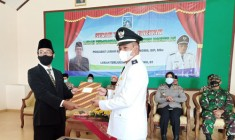 Sertijab Lurah Widodomartani Sleman Heruyono, ST Lurah Terlantik Periode 2020-2026.