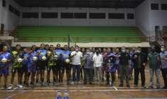 Wabup Sleman Danang Maharsa, Resmikan Tim Pemkab Sleman Volly Ball