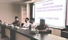 TAKMIR  MASJID  SE CONDONGCATUR ADAKAN  SOSIALISASI  DEWAN MASJID INDONESIA