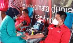 DPC PDIP Sleman Peringati Bulan Bung Karno Gelar Aksi  Darah Massal