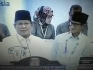 Pasca Pengambilan Nomor Undian H.Prabowo-Subianto-Sandiaga Uno 'Konsisten Bangun Perekonomian