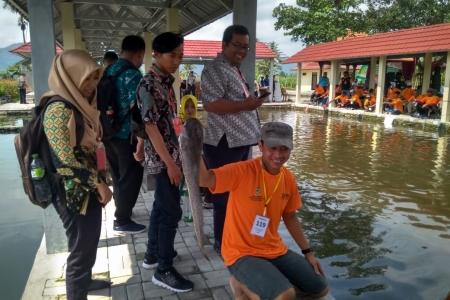 Mancing Mania, Dinas Perikanan Kabupaten Magelang Dorong Masyarakat Makan Ikan
