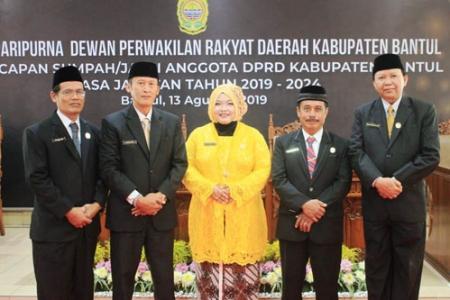FPG Dprd Bantul 2019 Incar  Kursi  Ketua Dewan ?