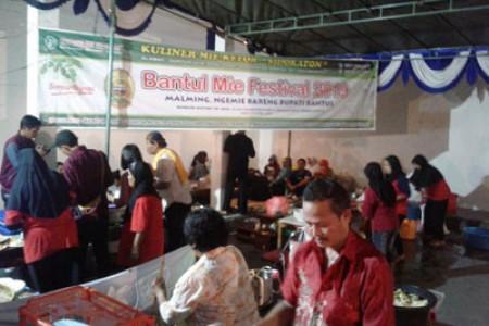 Dongkrak Pariwisata Bantul Gelar Festival Mie 2019