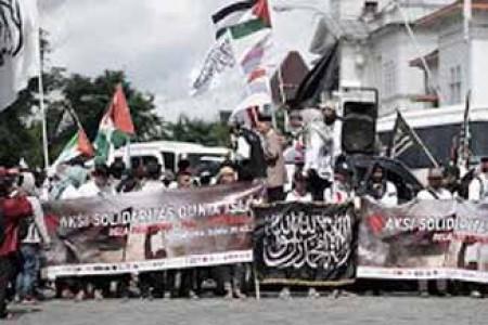 40 ormas Islam Melaukan Aksi Solidaritas Dunia Islam di Gelar di Yogyakarta