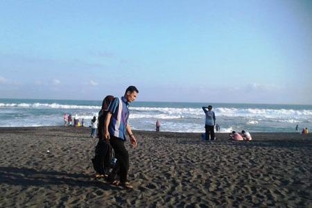Jelang  New Normal Pantai Samas dan Parangtritis Ramai Dikunjungi Wisatawan Lokal