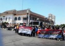 Aksi Mendukung Revisi UU KPK Di…