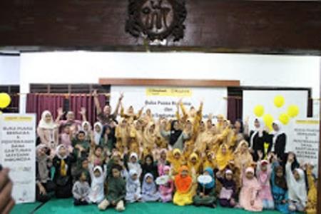 Ramadan 1440 H ACT DIY Buka Bersama Anak Yatim
