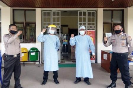 Cek Penerapan Protokol Kesehatan, Bimas  Polda DIY Sambangi RS
