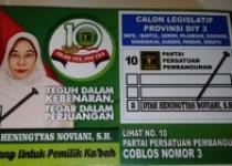 Dyah Heningtyas Noviani Caleg PPP…