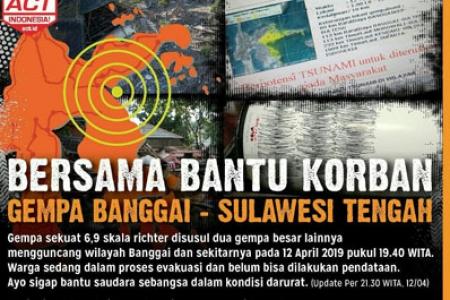 Jelang Pilpres di Goyang Gempa Bumi 6,9 SR Guncang Banggai Sulteng