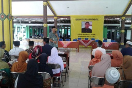 Jaring Aspirasi 2019 Heru Sudibyo Bantul 'Di Tonjok 18 Proposal