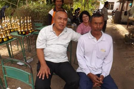Lomba Perkutut Wates Kulonprogo Meriah 'Suradi ST.MT Panjatan Dukung Penuh Ekonomi Kreatif