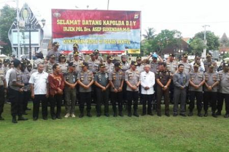 Polda DIY Siap Amankan Pilkda 2020 Kabupaten Bantul, Sleman Dan Gunungkidul