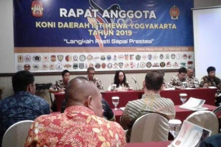KONI DIY Targetkan 150 Altet Lolos PON XX Papua Pada Tahun 2020