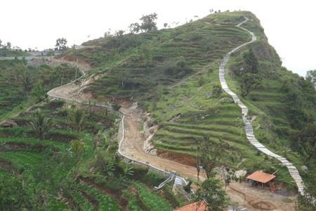 View Puncak Kawasan Batara Sriten Gunungkidul Oke