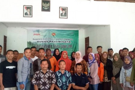 Karang Taruna Desa Ngoro-Oro Patuk Sambut Positif Kampanye Sadar Wisata