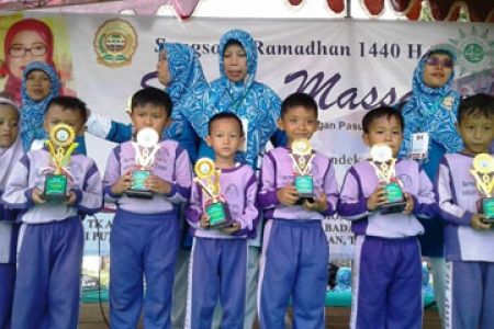 1.300 Anak TK ABA Ikuti Senam Massal Songsong Ramadhan 1440 Hijriyah