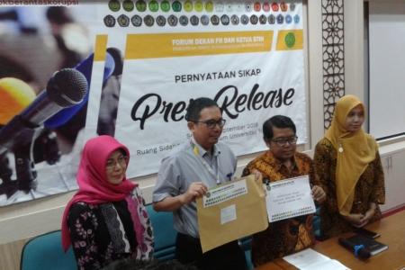 Forum Dekan FH - Ketua STIH Muhammadiyah  Se Indonesia Menolak Revisi UU KPK