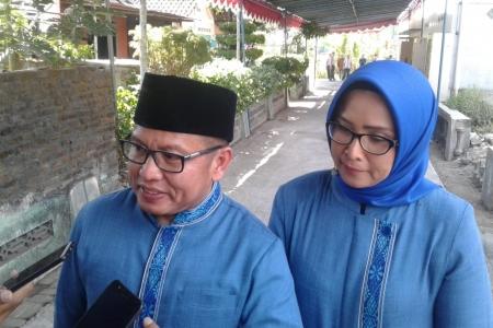 Istri masuk Islam keluarga ini syukuran  dan resmikan masjid