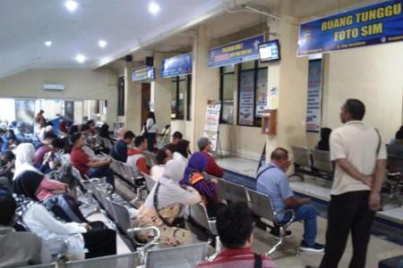 Ramadan 1440 Jumlah Pemohon SIM Bantul Stabil