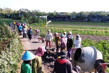 Anggota BPD Dilarang Mensuplay Material Untuk Proyek Desa Dengan Anggaran APBN Dana Desa
