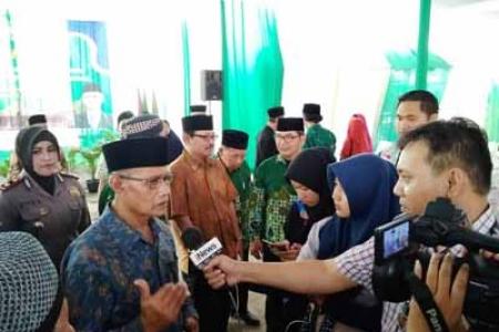 Ketua PP Muhammadiyah Awali Peletakan Batu Pertama Pembangunan SD Muhammadiyah Kraton