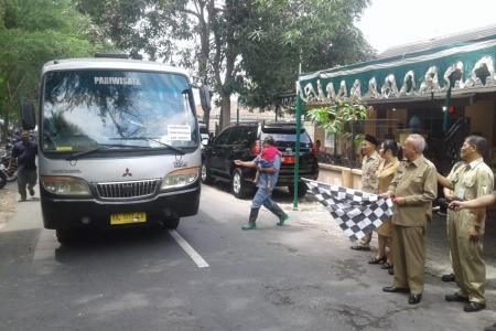 Desember 2019 Para Caltran Asal Bantul Dilepas Menuju Kalimantan Utara