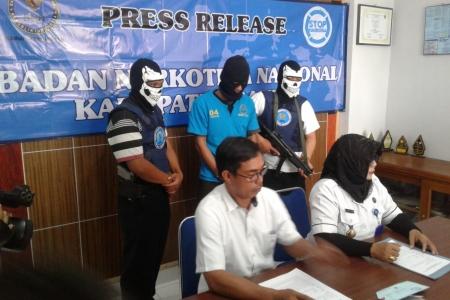 Badan Nasional Narkotika Kabupaten Bantul  Gulung  Sindikat  Narkoba