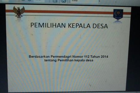 Inilah Isi Permendagri  RI No 112 Tahun 2014 Terkait  Pilkades