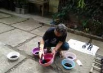 Batik 'Shibori' Piyungan Akses…