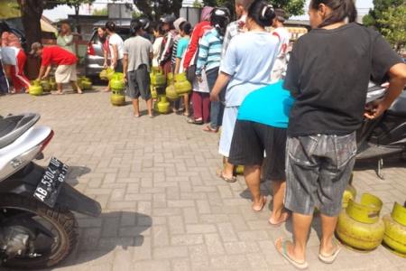 17 Kecamatan Di Bantul  Ada Tabung Gas Murah Rp 15.500  Selama 3 Hari